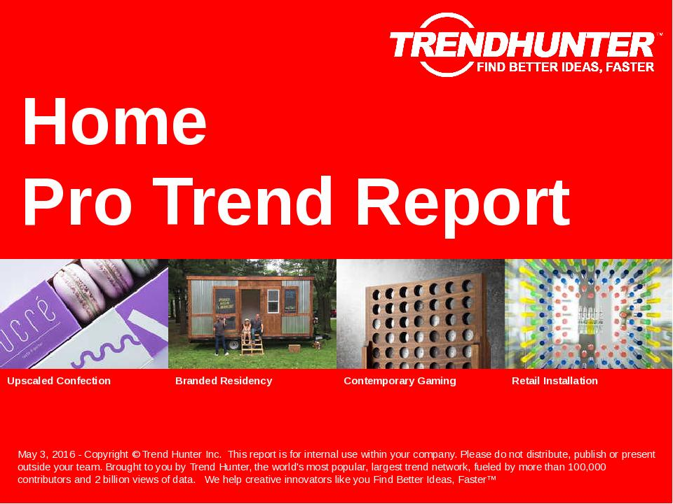 Home Trend Report Research