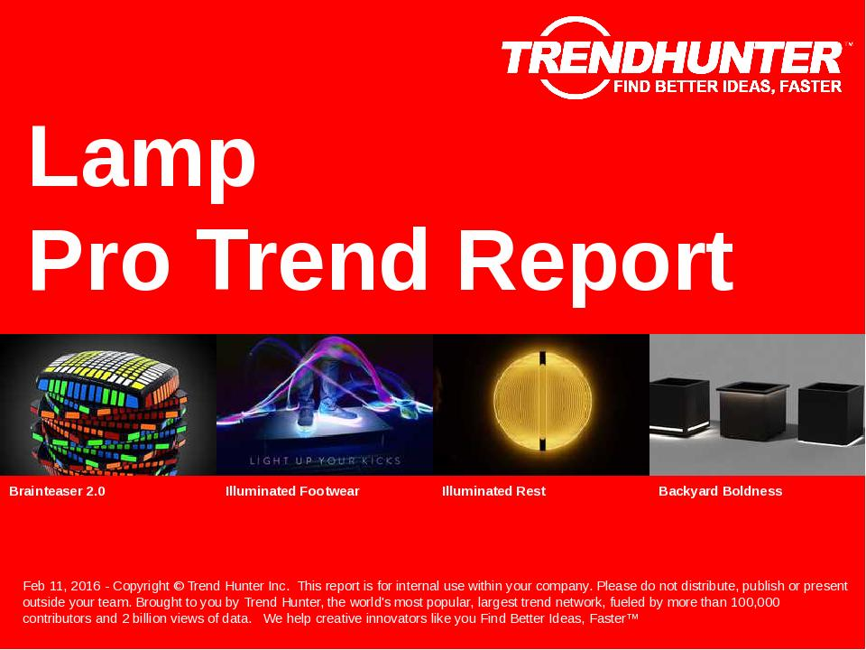 Lamp Trend Report Research