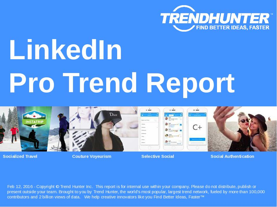 LinkedIn Trend Report Research