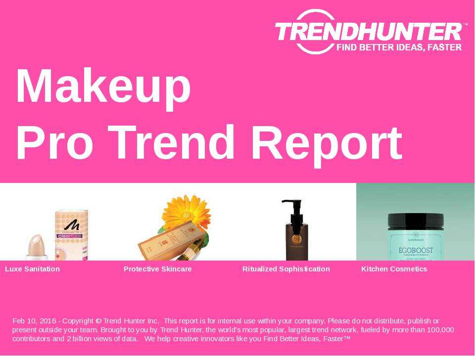 Makeup Trend Report Research
