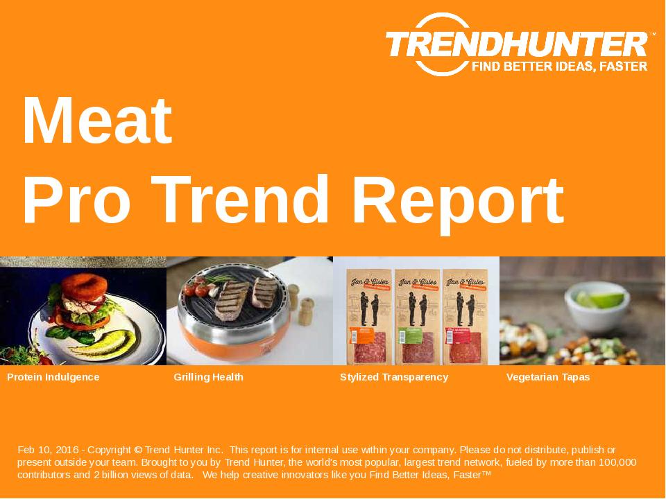 Meat Trend Report Research