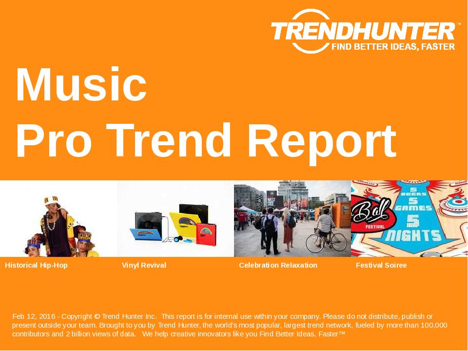 Music Trend Report Research