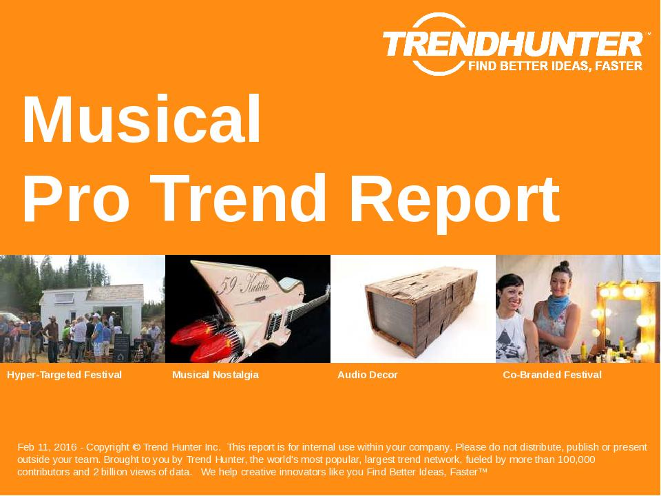 Musical Trend Report Research