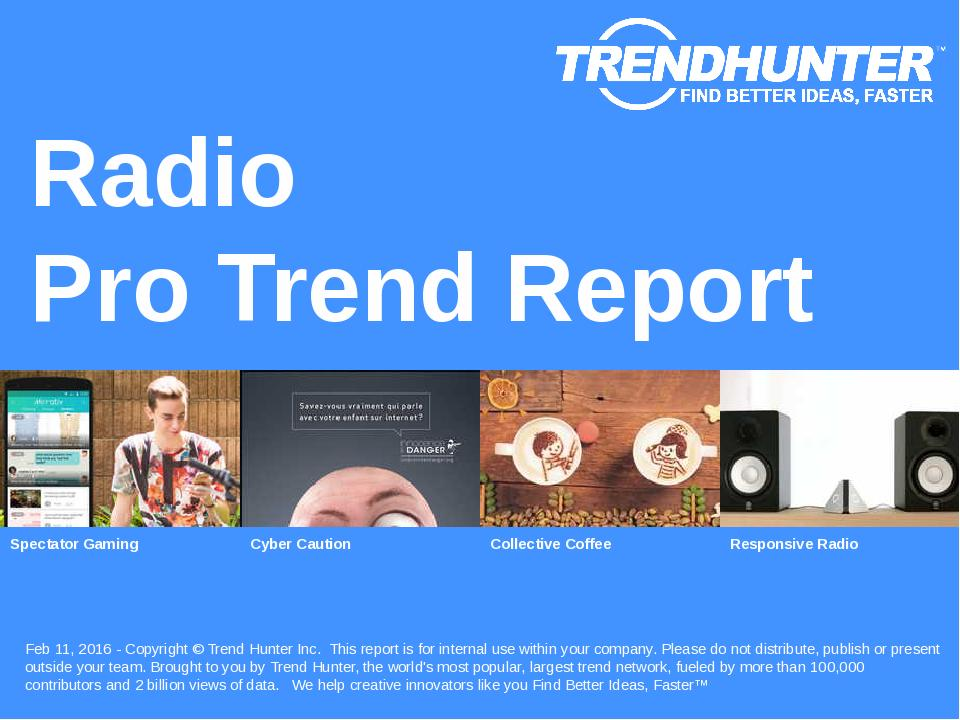 Radio Trend Report Research