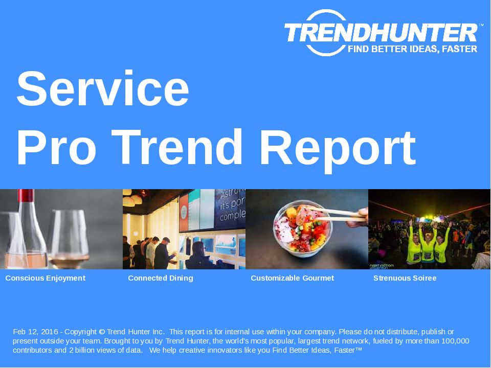 Service Trend Report Research