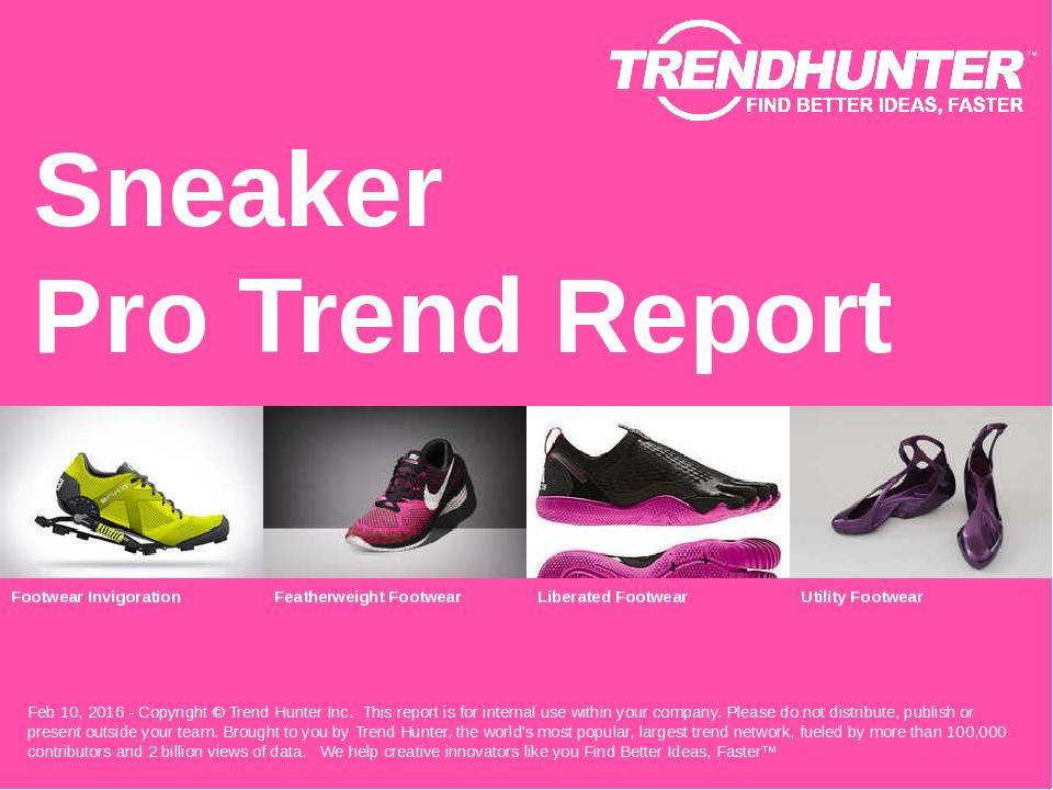 Sneaker Trend Report Research