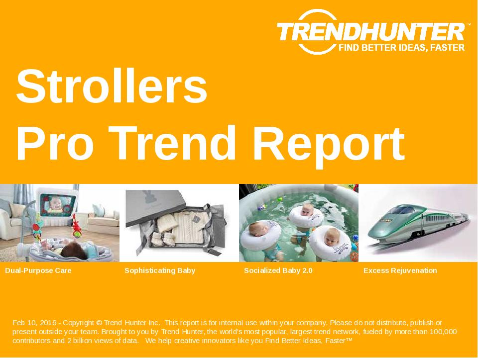 Strollers Trend Report Research