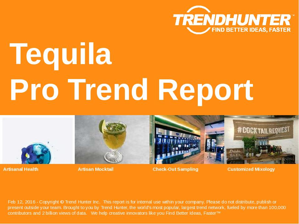 Tequila Trend Report Research