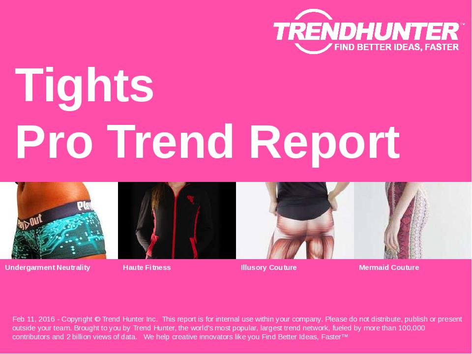 Tights Trend Report Research