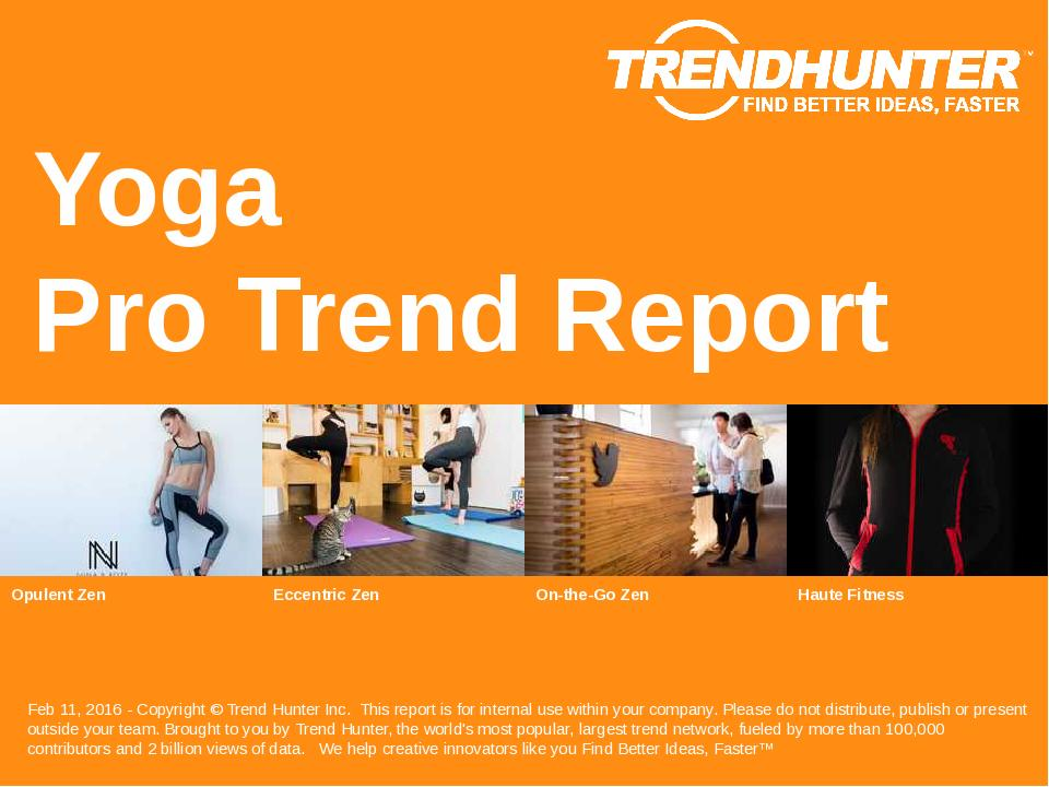Yoga Trend Report Research