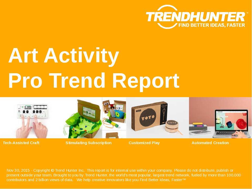 Art Activity Trend Report Research