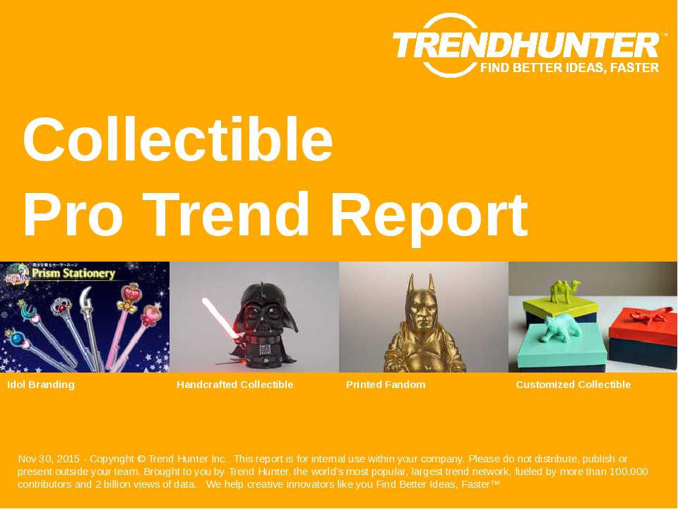 Collectible Trend Report Research