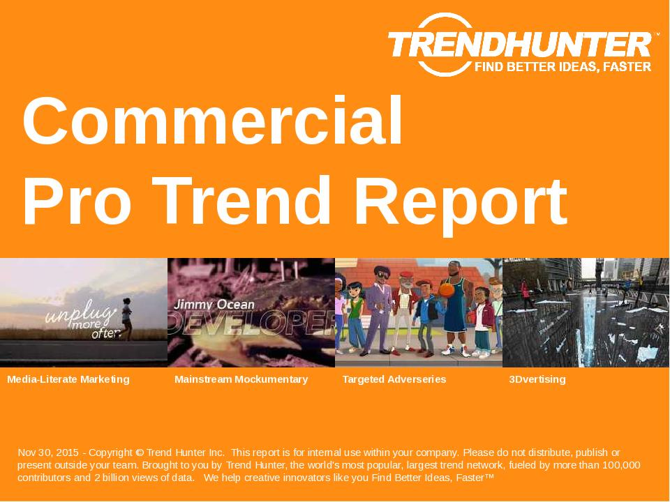Commercial Trend Report Research