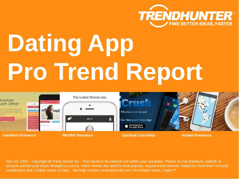 Dating App Trend Report Research