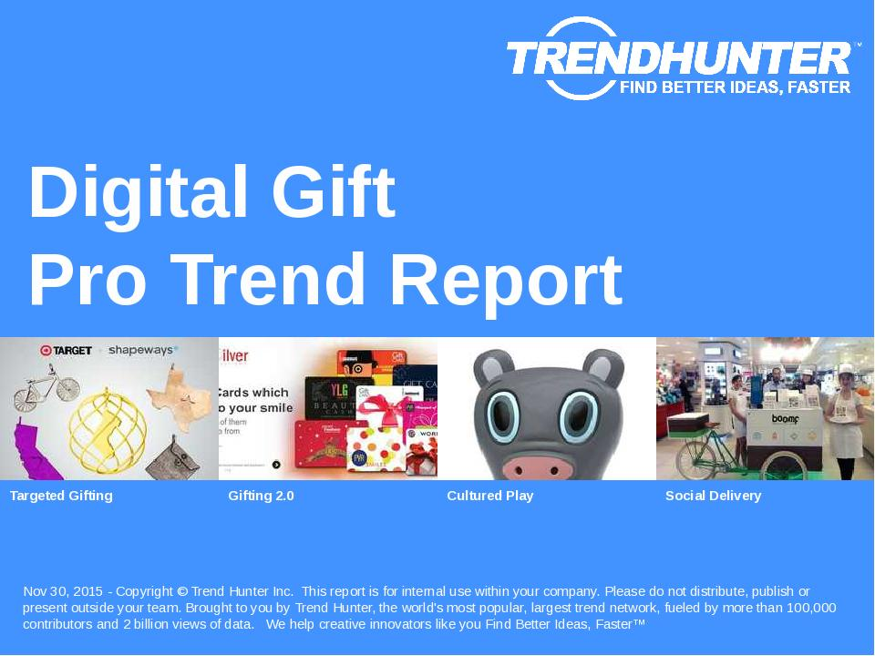 Digital Gift Trend Report Research