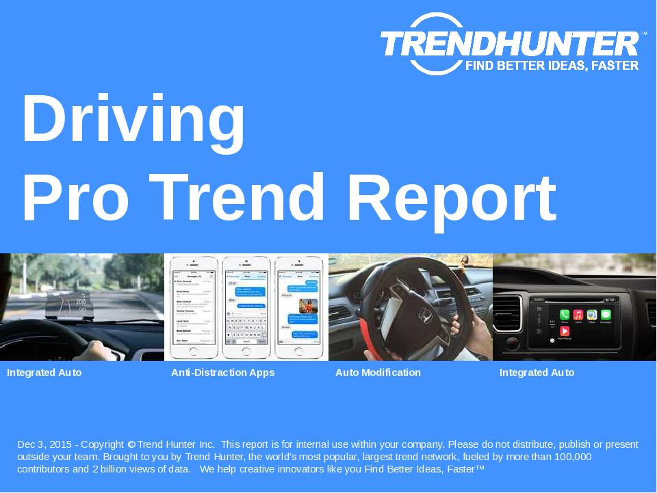 Driving Trend Report Research