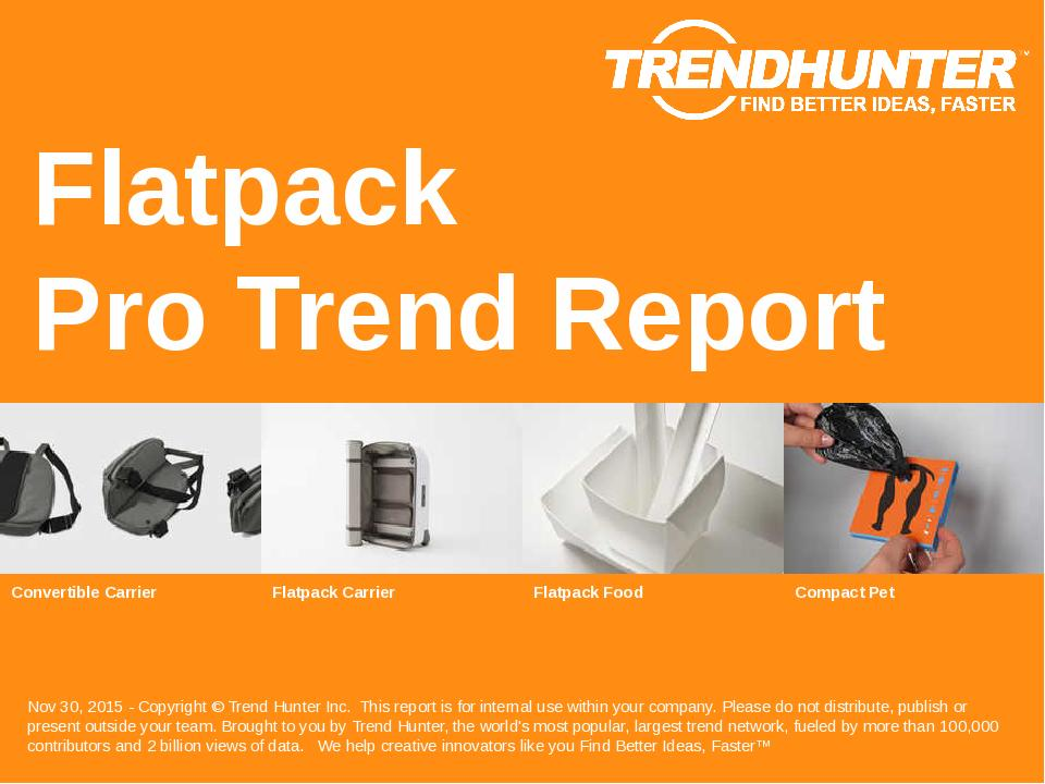 Flatpack Trend Report Research