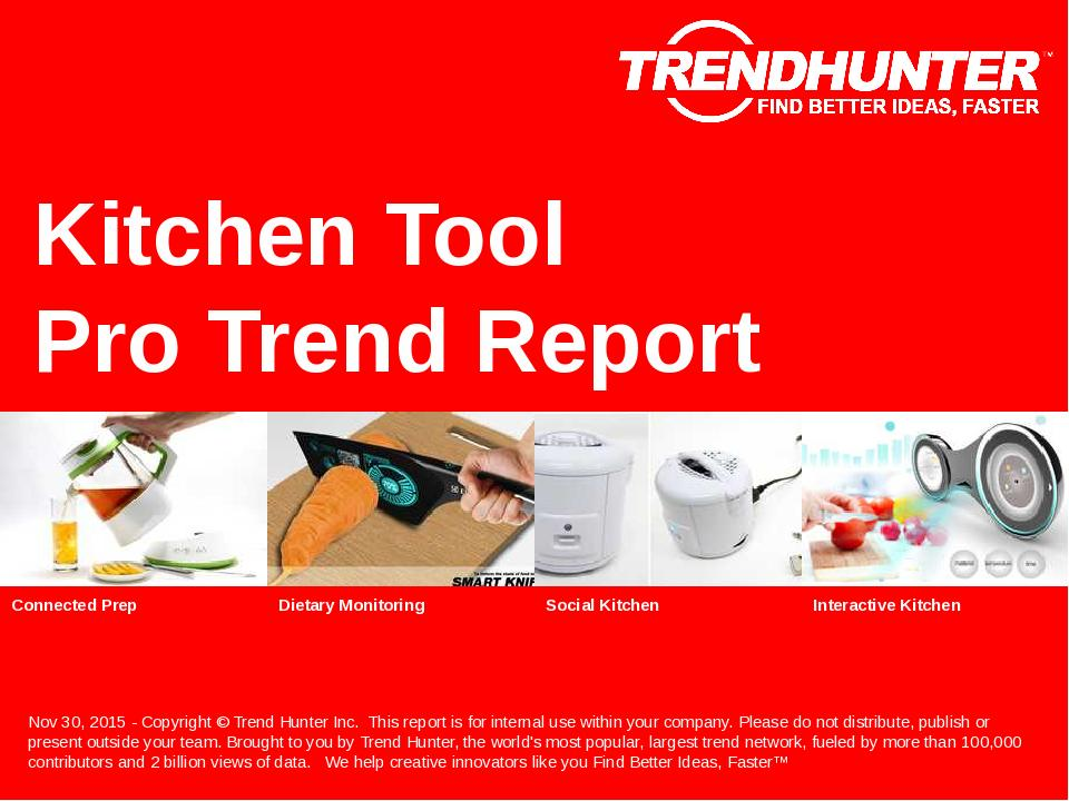 Kitchen Tool Trend Report Research