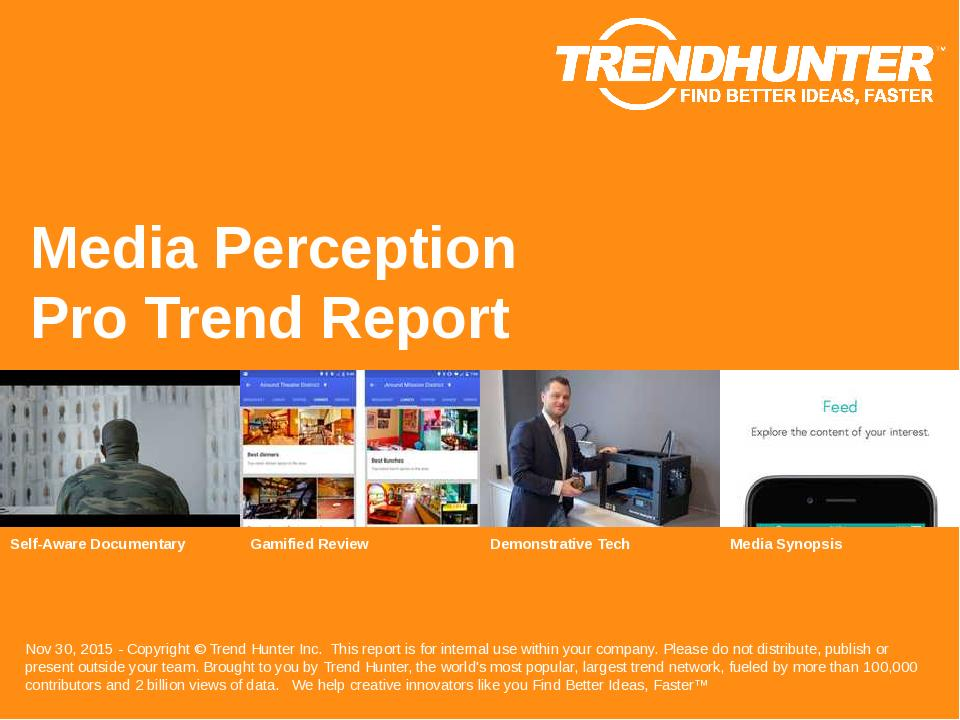 Media Perception Trend Report Research