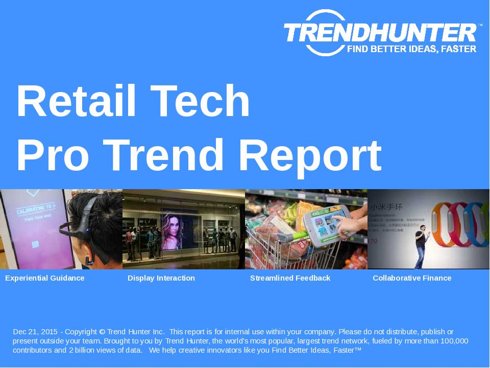 Retail Tech Trend Report Research