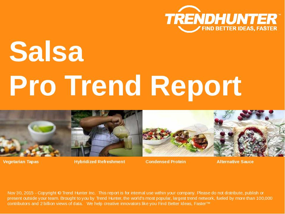 Salsa Trend Report Research
