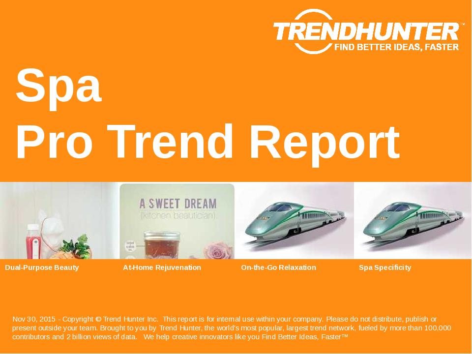 Spa Trend Report Research