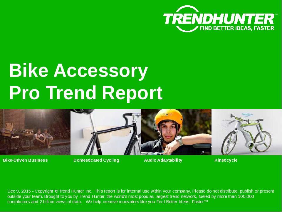 Bike Accessory Trend Report Research