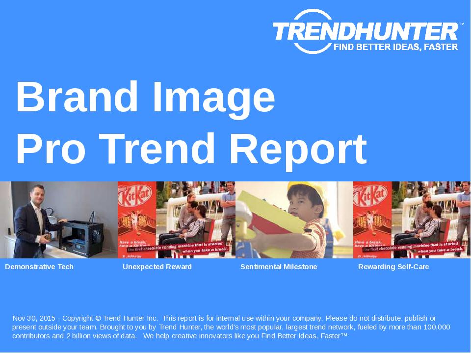 Brand Image Trend Report Research