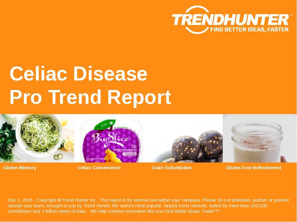 Celiac Disease Trend Report Research