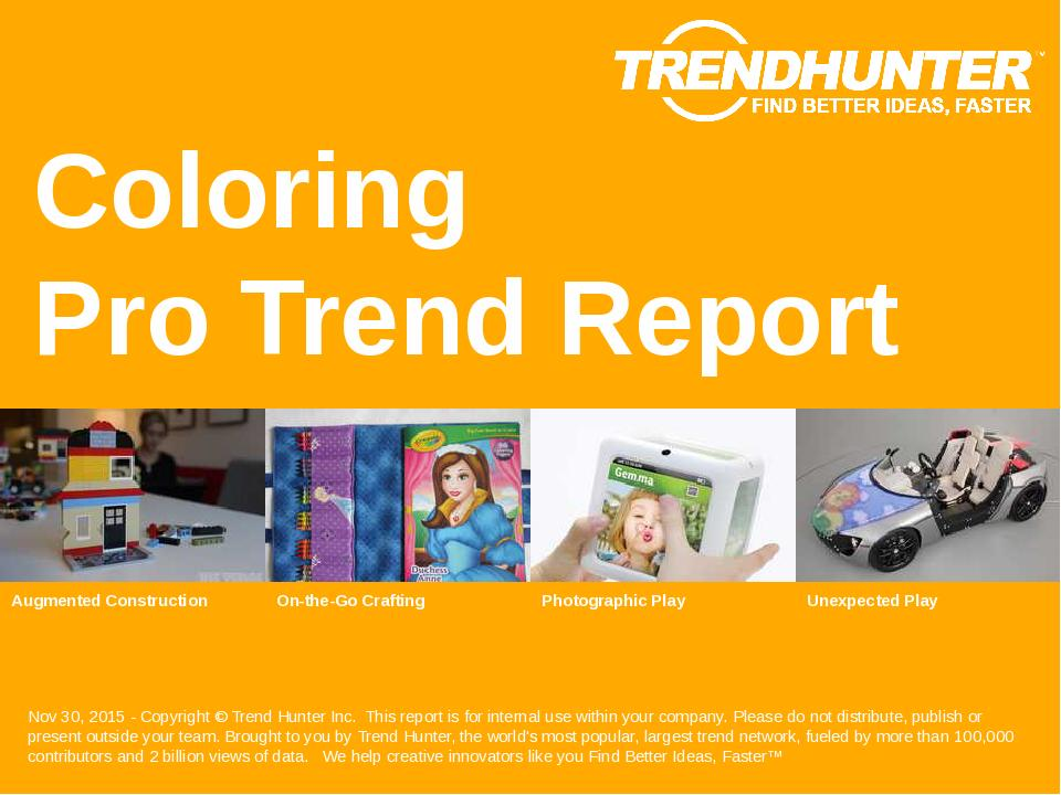 Coloring Trend Report Research