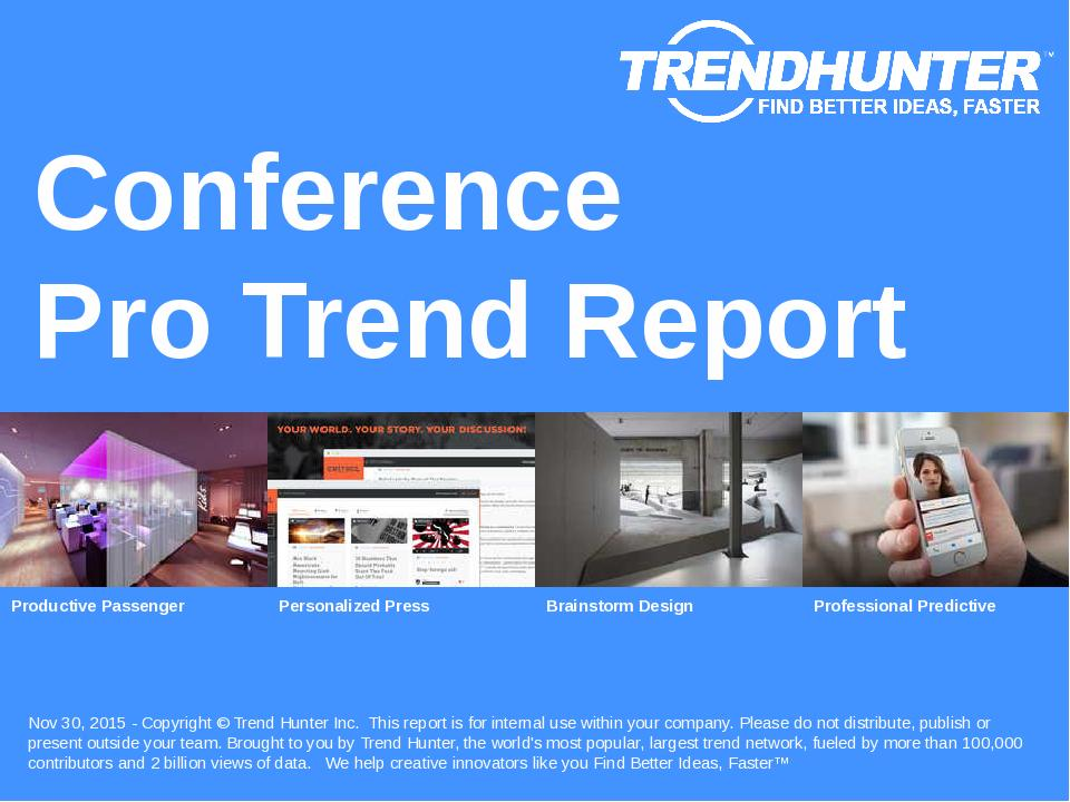 Conference Trend Report Research