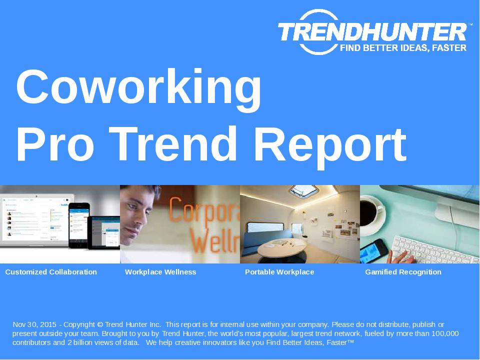 Coworking Trend Report Research