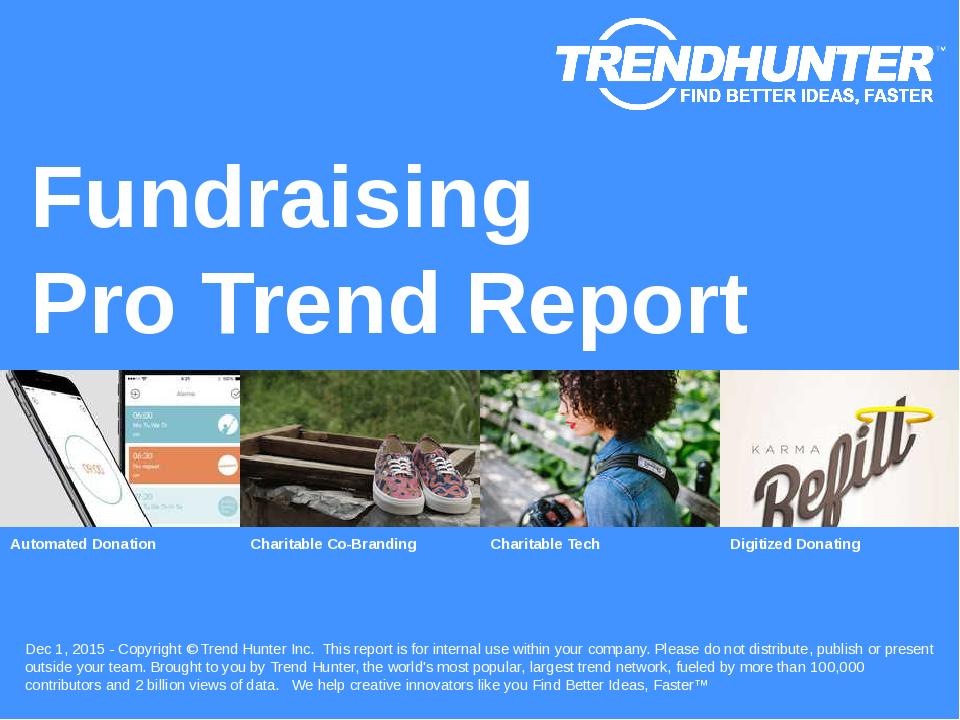 Fundraising Trend Report Research