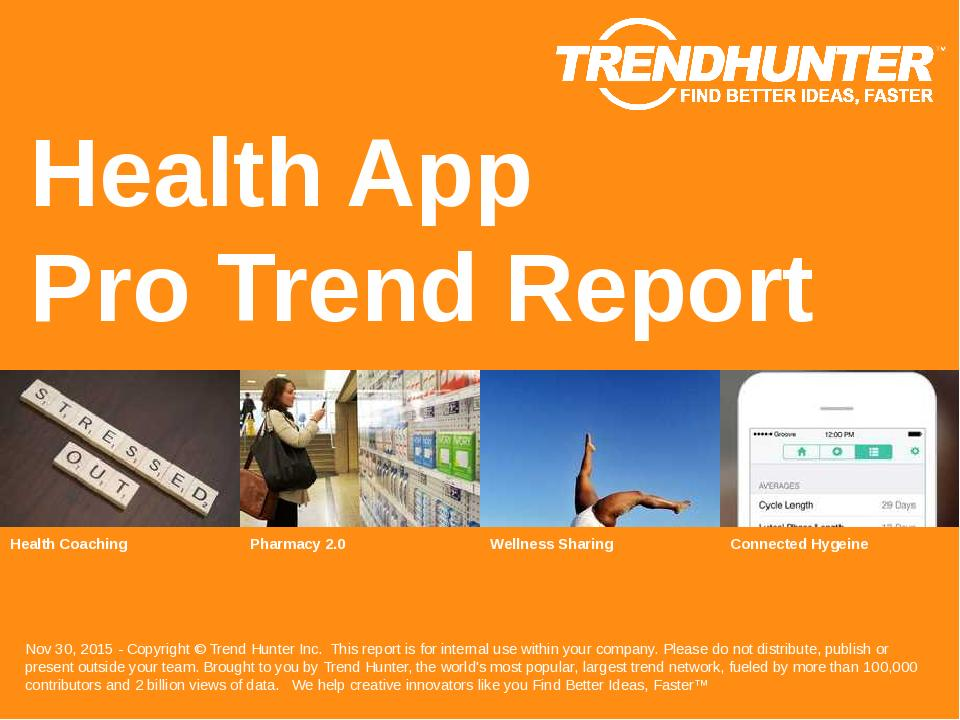 Health App Trend Report Research