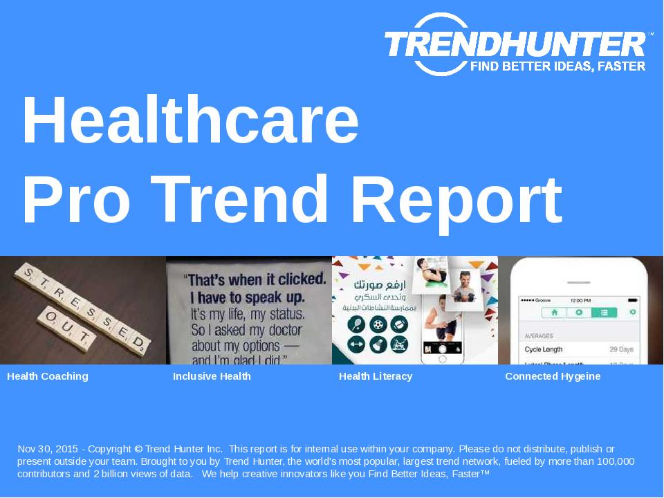 Healthcare Trend Report Research