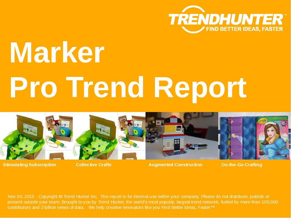 Marker Trend Report Research