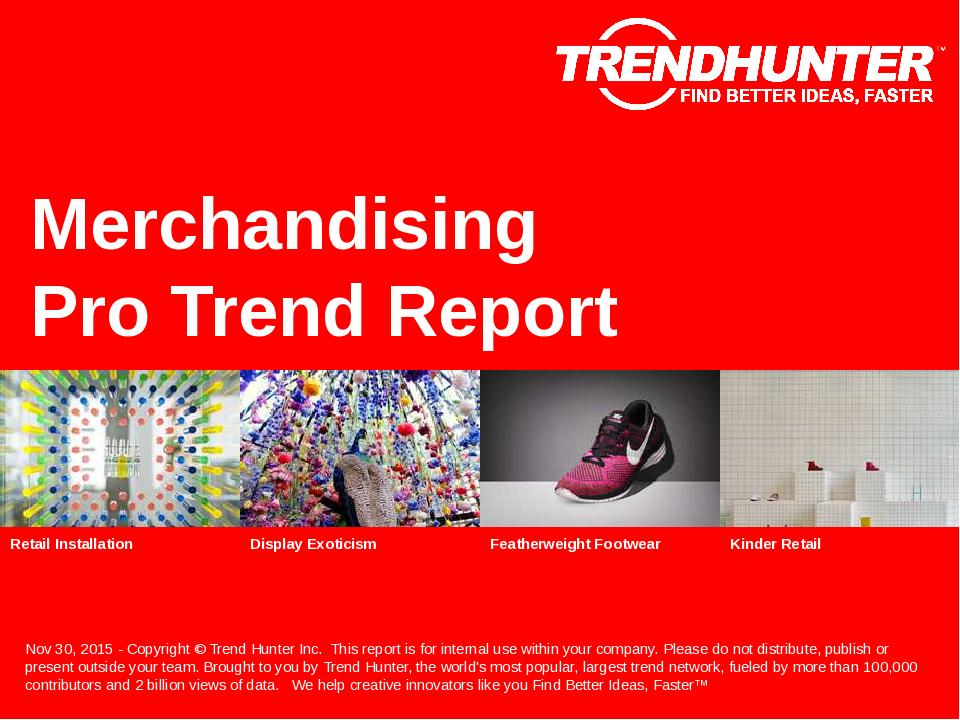 Merchandising Trend Report Research