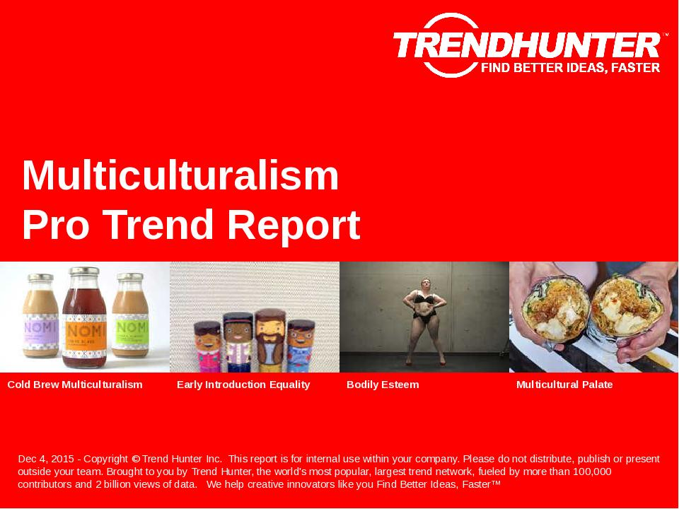 Multiculturalism Trend Report Research