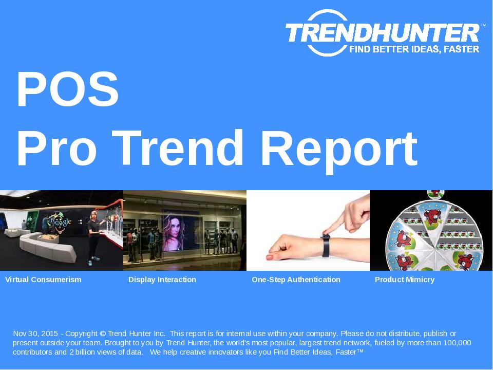 POS Trend Report Research