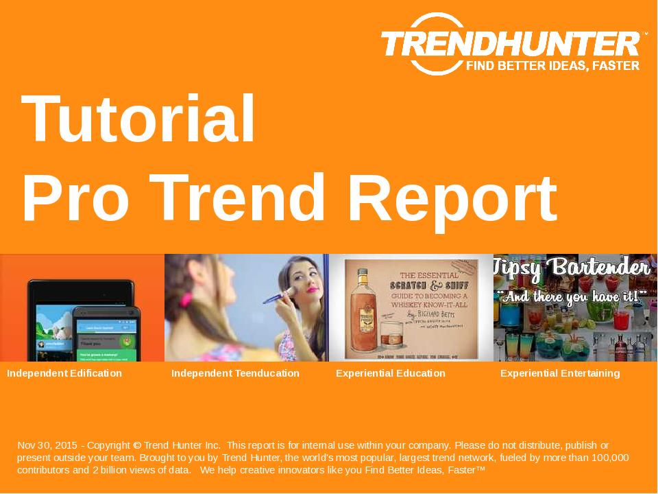Tutorial Trend Report Research