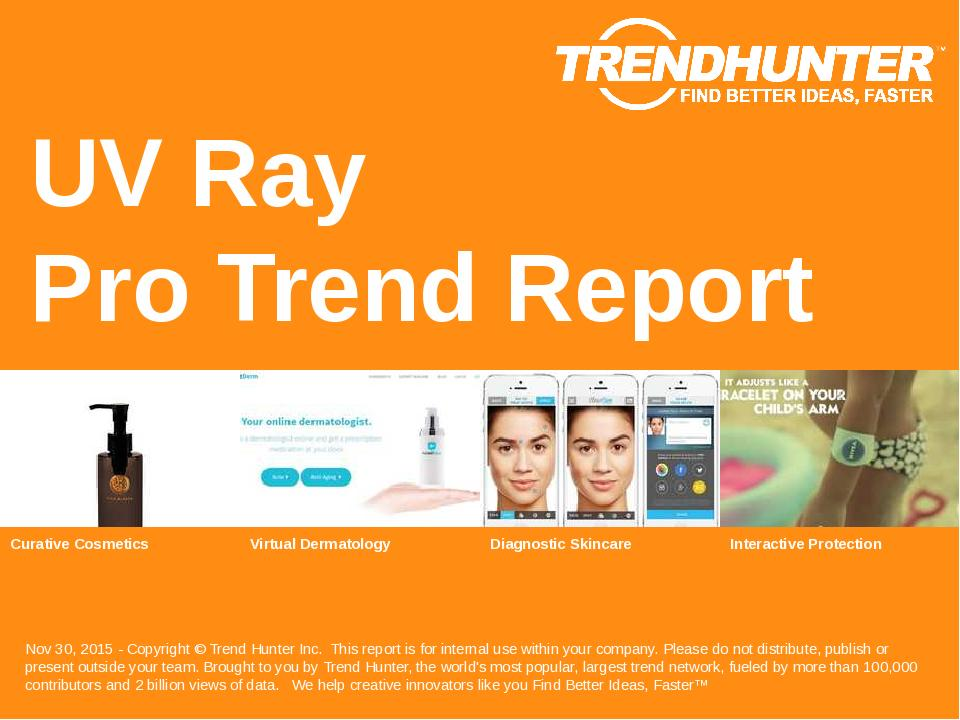 UV Ray Trend Report Research