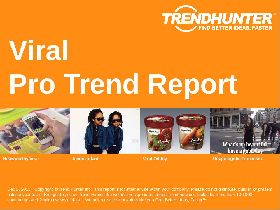 Viral Trend Report Research
