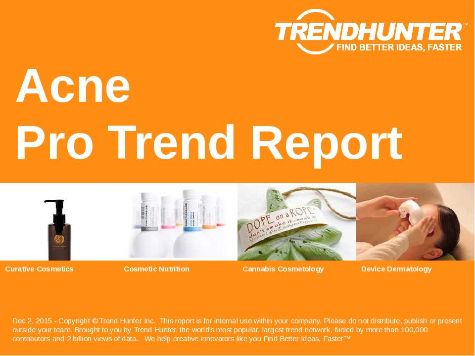 Acne Trend Report Research