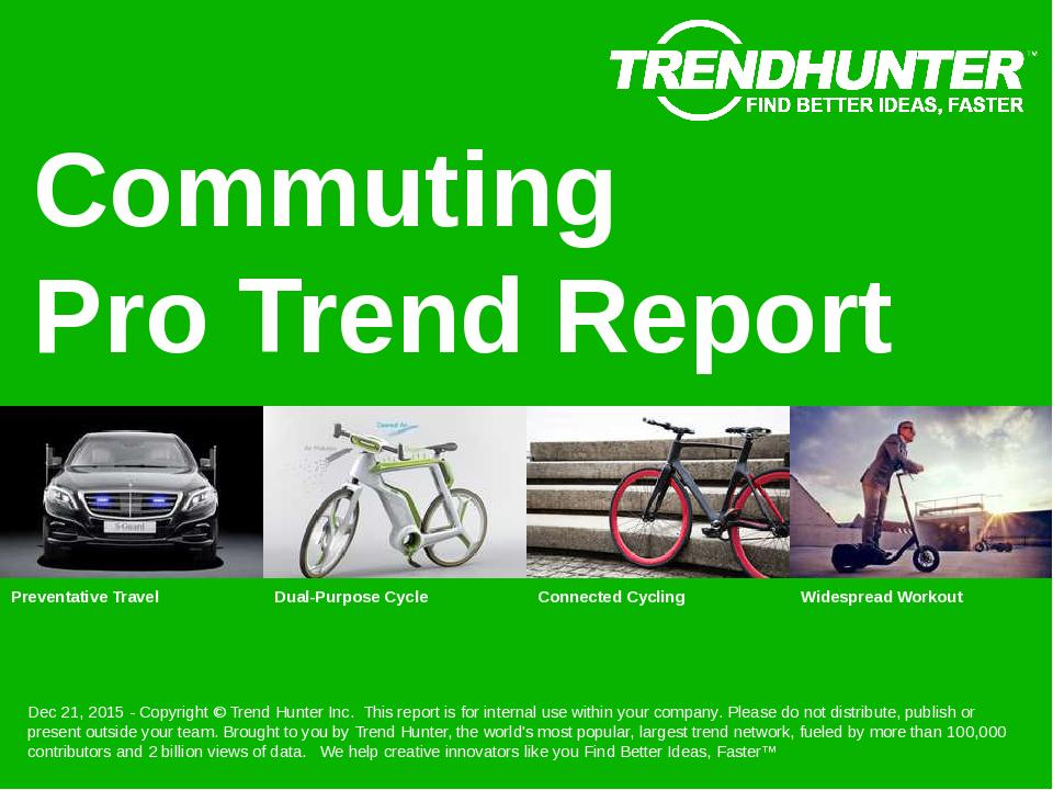 Commuting Trend Report Research