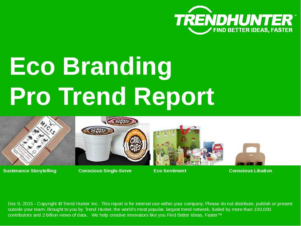 Eco Branding Trend Report Research
