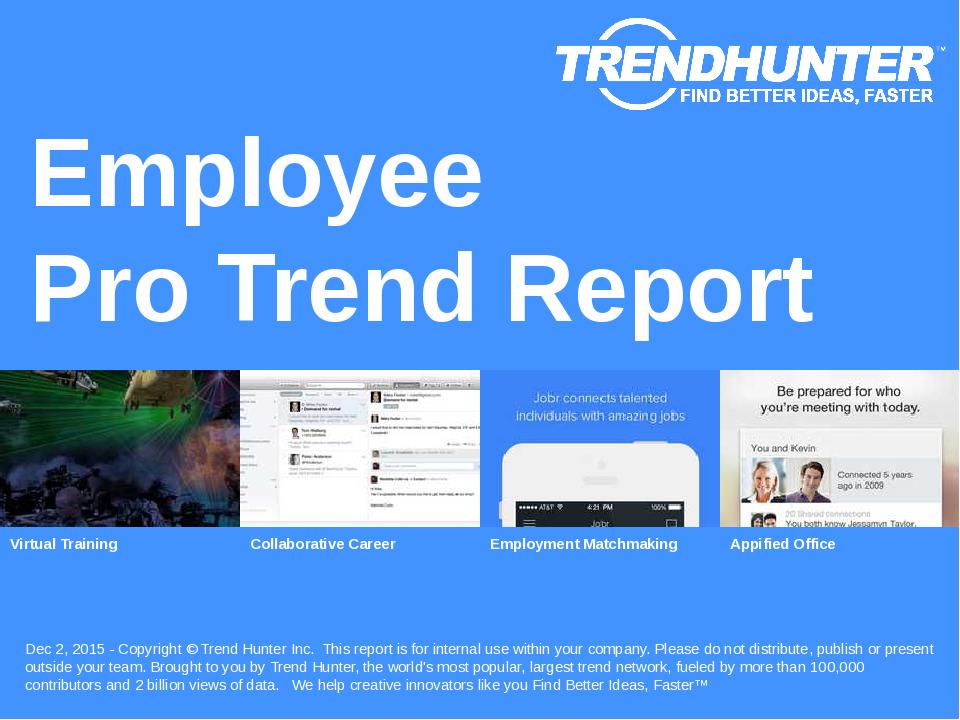 Employee Trend Report Research