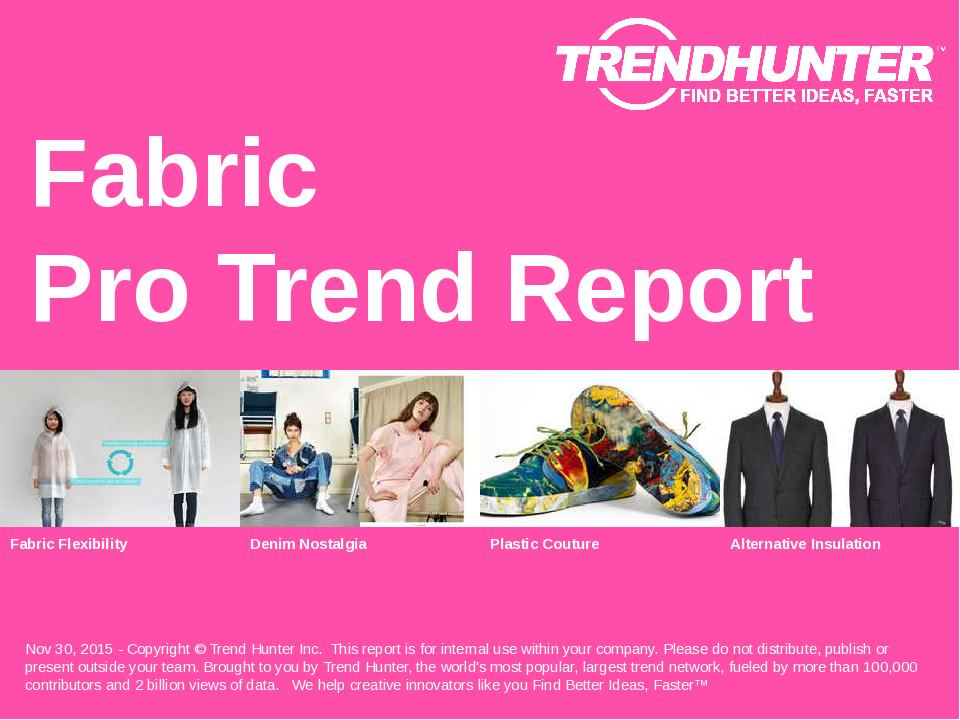 Fabric Trend Report Research