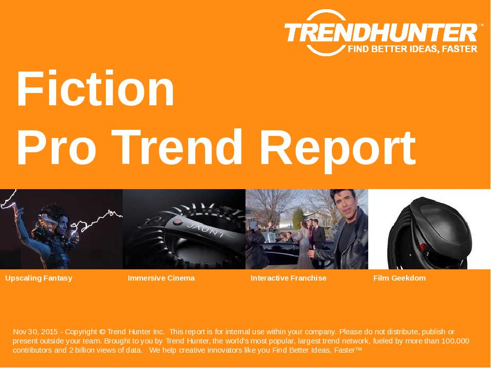Fiction Trend Report Research