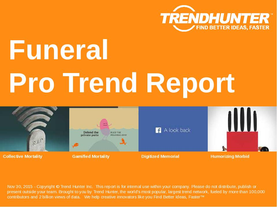 Funeral Trend Report Research