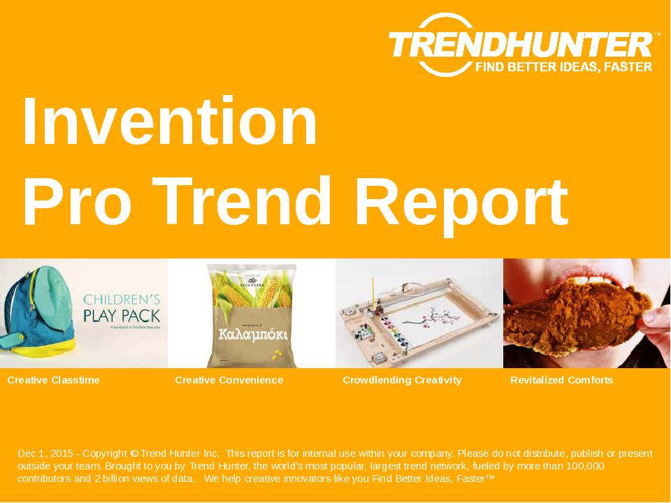 Invention Trend Report Research